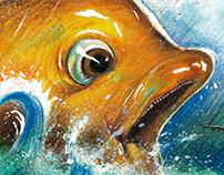 Children Book Pirate Fusselbarts Goldfish