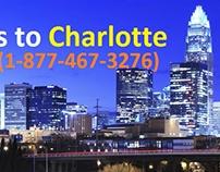 Flights to Charlotte