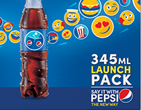 Pepsi 345ml Launch Book (Pakistan)