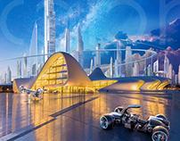 Futuristic Baku