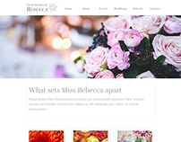 Free Website Template - Floral Design