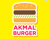 Logo Design : Akmal Burger