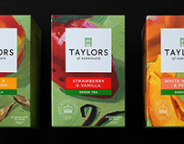 Taylors of Harrogate Tea Rebranding