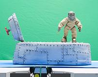 """Aquanaut"" Stop Motion Animation"