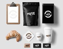 Max Cafe Logo Design