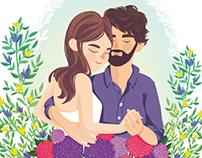Caroline & Florian / Wedding Papeterie
