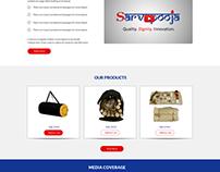 Sarvapooja- web design and development