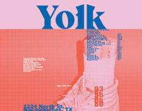 Yolk Restaurant Brand