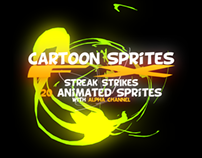 Cartoon Sprites FX (Energy Explosion)