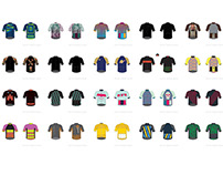 31 Cycling Jerseys.