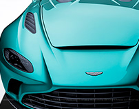 2020 Aston Martin V12 Speedster Tiffany Blue
