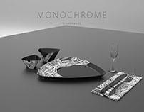 Monochrome Dinnerware