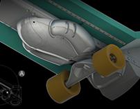 Detective Conan Replica Skateboard