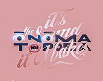 ONOMATOPOEIA - It's the sound it makes