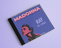 Madonna Ray of The Light Album Cover Design