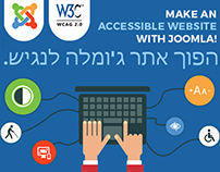 Make an accessible website with Joomla!