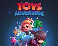 Toys Adenture Art work & Animation work