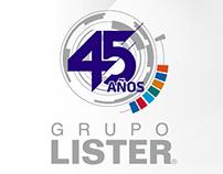 Campaña Grupo Lister® 45 Años