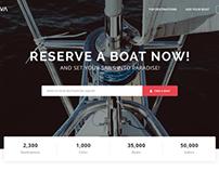 Nava - clean, responsive free HTML template