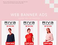 Riva Fashion Banner Ads