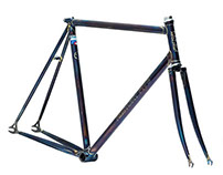 F5 Pista Frameset : Fully Flamed