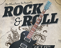 Rock n Roll Flyer Template