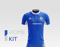 Chelsea FC Football Kit 17/18.