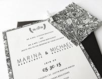 Marina & Mike Wedding Stationary