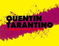 Quentin Tarantino - A minimal poster tribute