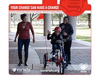 Die Cut USV Wobbler Round Up Campaign