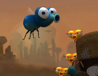3D Animated Shorts - FLY & LOVE