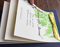 Spring Wedding Invite