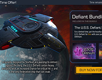 Star Trek Timelines Mobile Game Interface Design