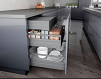 Alphabox Drawer Systems for Kitchen