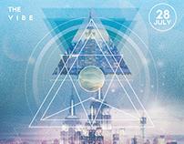 Future Sound - Futuristic Flyer Template PSD