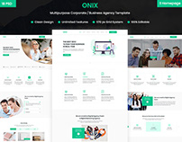 ONIX - Corporate/Business Agency Template