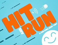 Hit and Run - Sans Serif Font
