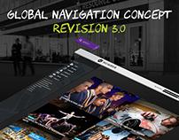 Humber College - Global Navigation Concept - V3.0