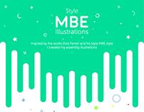 MBE Style Illustration