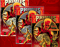 Primus Gig Poster June 2017