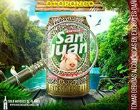 Cerveza San Juan Campaña que vuelva el Otorongo