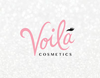 Voila Cosmetics - Package Design