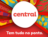 CENTRAL supermercados - Campanha de abertura