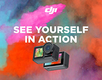 DJI – Multi-Channel Product Campaign – Osmo Action
