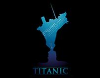 Poster Design: Titanic, Bokeh and Speed Art.