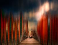 A bridge in Hamburg