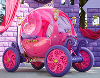 Dynacraft Disney Princess Carriage CAD Consulting