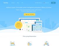 Landing Page VenPad