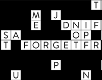 FORGET ME NOT Site web