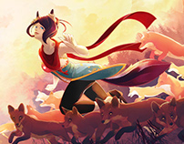 Kiku : Running with the foxes